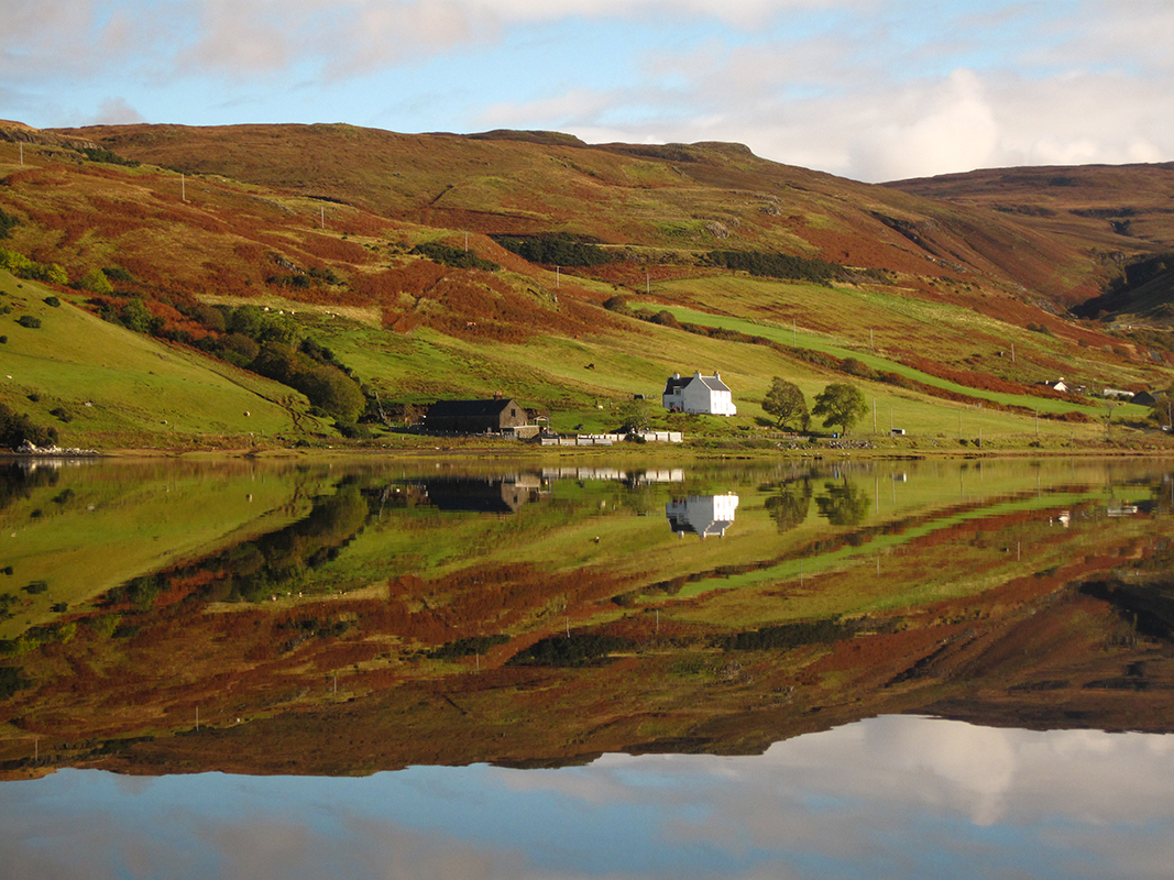 Reflection, Carbost, Isle of Skye
