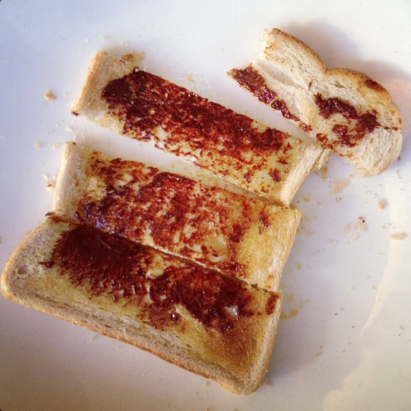 Cenovis on toast soldiers
